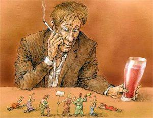 Алкогольный галлюциноз (alcoholic hallucinosis)