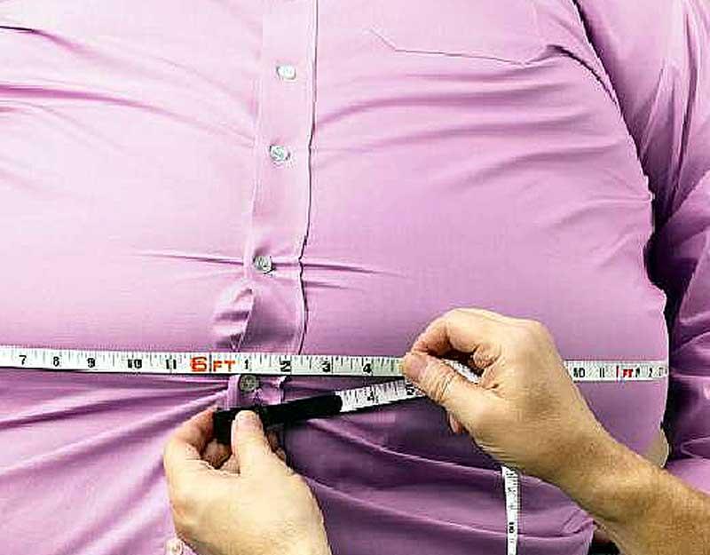отложение жиров в области живота