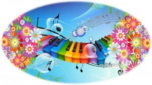 Музыка, ноты (music notes)